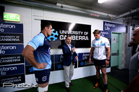 University Of Canberra Brumbies Vs NSW Waratahs.